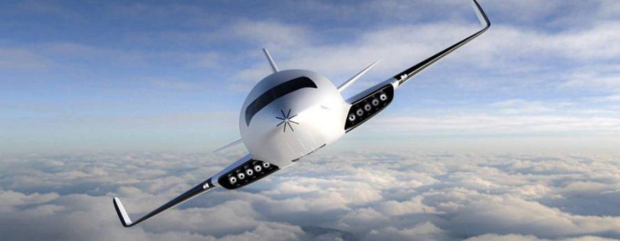 Eather One: električni avion koji vazdušno trenje pretvara u energiju