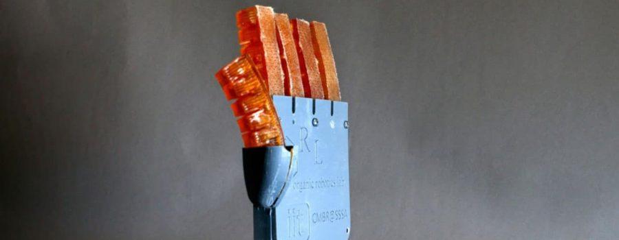 Meki mišić za robote, koji može da prilagođava svoju temperaturu znojenjem