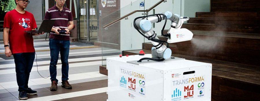 Novi robot za dezinfekciju može pomoći čistačima u pandemiji virusa COVID-19