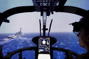 Pomoćni sistem koji pomaže pilotima helikoptera da bezbjedno slete na brodove