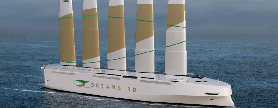 Brod Oceanbird koga pokreće vjetar će smanjiti ispuštanje štetnih gasova za 90%